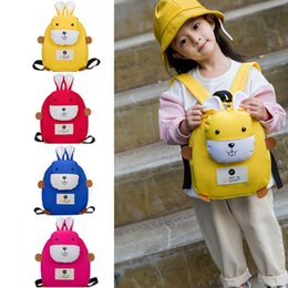 e734cb4d55f8 2019 Cute Toddler Kid 3D Cartoon Rabbit Backpack Children Boy Girl School  Bag Rucksack School Bags for Teenage Girls Lovely