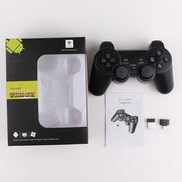 Joystick play online shopping - TGZ W GHz Wireless Controller for smart Joystick Gamepad smart Game Controller for Sony Play Station With box Packaging
