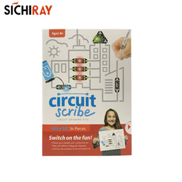 ElEctric circuit toys online shopping - Circuit scribe ultra kit pieces circuit drawing kit electric conductive pen for children educational toys