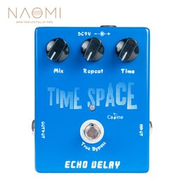 guitar pedal caline NZ - NAOMI Electric Guitar Pedals CP-17 Echo Delay True Bypass Blue 600ms Max Caline CP-17 Pedal Guitar Parts Accessories New