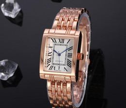 Wholesale kinder auto online – design Three Kinds of Brand Elegant High Quality Luxury small Watches Women Gold Watch Steel Strip Rose Gold Sparkling Dress Wristwatch Drop Ship