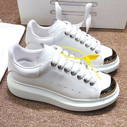 thick sole sneakers NZ - Luxury fashion designer men's and women's shoes, sub-sneakers leather casual shoes, thick-soled sports shoes with original box QWz