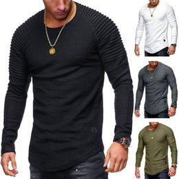 $enCountryForm.capitalKeyWord Australia - Thermal Men Slim Fit O Neck Long Sleeve Muscle Tee T-shirt Casual Tops Casual Slim Fit Muscle Plus Size T shirt Tees