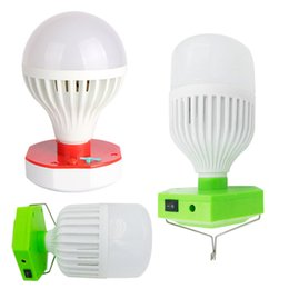Wholesale Rechargeable Camping Light with LED Bulb Li ion Battery Build In