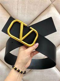 045917f097ddb Brand designer belt fashion new luxury 7cm lady belt black and red belts  body gold buckle hot sale belt high quality wholesale