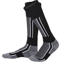 Hiking Socks Beautiful Thicken Winter Snow Skating Long Ski Socks Stocking Leg Protection Warm Sports For Kids Women Men Outdoor Hose Ski A Wide Selection Of Colours And Designs