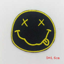 Band Clothes For Australia - Nirvana Band embroidered patches Embroidery Sew Patch For Clothes Girls Boys Iron On Patches Stickers Appliques