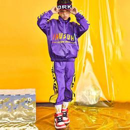 af0b9c20a60b Boys Autumn Jazz Dance Costumes Children'S Street Dance Set Hip Hop Outfit Performance  Clothing Tide Jazz Clothes DL3277