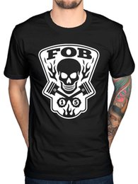 Men Head Gear Australia - Official Mens Fall Out Boy Gear Head T-Shirt Rock American Beauty Patrick Skull Men Women Unisex Fashion tshirt Free Shipping black