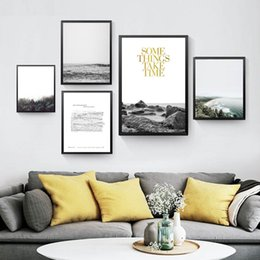 $enCountryForm.capitalKeyWord Australia - english quote canvas painting nordic scenery wall picture inspirational art poster decoration painting wall print HD2666