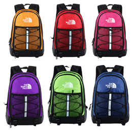 large sports duffle bag Canada - Women Men N&F Backpacks North Shoulder Bags Face Travel Sports Duffle The Cosplay Schoolbags Big Large Capacity Nylon Knapsack Totes C72502