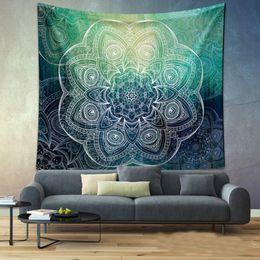 $enCountryForm.capitalKeyWord Australia - New 1pc Indian Elephant Mandala Tapestry Wall Hanging Sandy Beach Picnic Throw Rug Blanket CampingTent Travel Sleeping Pad Cheap