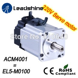 servo motor torque Australia - Leadshine 220V AC servo motor ACM4001L2H-60-B NEMA16 frame max 5000 rpm and 0.954 Nm torque use together with L5-100-T drive
