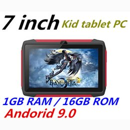 tablet android q8 Australia - FREE DHL kid Tablet PC Q98 Quad Core 7 Inch 1024*600 HD screen Android 9.0 AllWinner A50 real 1GB RAM 16GB Q8 with Bluetooth wifi