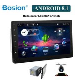 Vente en gros 10 pouces 8 Core 2 DIN universel Android 8.1 Autoradio GPS Radio Vidéo Lecteur Stéréo Auto BT RDS Unité principale 2din avec wifi usb sd