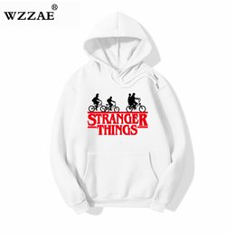 Hip Hop sweatsHirts for men online shopping - New Trendy Faces Stranger Things Hooded Mens Hoodies and Sweatshirts Oversized for Autumn with Hip Hop Winter Hoodies Men Brand SH190918