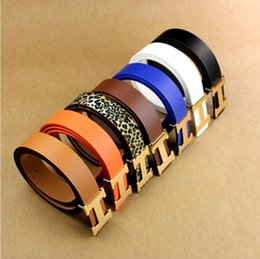 Wholesale Hot new BLACK colors Leather belt with Colorful crystal Double buckle Women riem styles ceinture with for gift