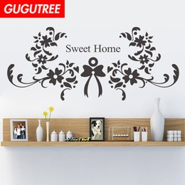$enCountryForm.capitalKeyWord Australia - Decorate Home sweet home cartoon art wall sticker decoration Decals mural painting Removable Decor Wallpaper G-1816