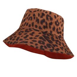 $enCountryForm.capitalKeyWord Australia - Sun Fishing Hat Ladies Women Casual Leopard Wide Brimmed Floppy Foldable Summer Sun Beach Hat 30AP18