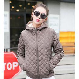 Womens Parkas Australia - Winter New Parkas Basic Jackets Female Women Winter Plus Velvet Lamb Hooded Coats Cotton Jacket Womens Outwear Coat