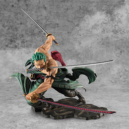 hot dolls japan Australia - Hot Sales 18cm Anime One Piece Roronoa Zoro Three Thousand World Version PVC Action Figure Model Doll Toys