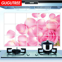 3d oil paint Australia - Decorate home 3D kitchen oil proof cartoon art wall sticker decoration Decals mural painting Removable Decor Wallpaper G-2562