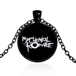 $enCountryForm.capitalKeyWord Canada - Cross-border new my chemical romance My Chemical Romance European and American rock band time gemstone pendant necklace Wholesale can be cus
