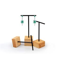 $enCountryForm.capitalKeyWord UK - Jewelry Earring Display Stand Metal Cross Crafts Fair Trade Show Kiosk Presentation Prop Stud Dangling Earrings Displays Holder Set of 3 pcs