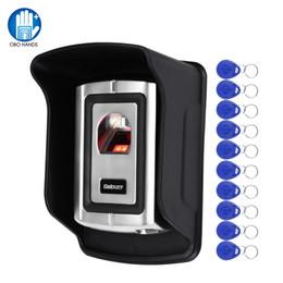 $enCountryForm.capitalKeyWord Australia - OBO Remote Fingerprint Access Control System Biometric RFID Reader Waterproof Cover Metal Door Opener Lock Security System WG26
