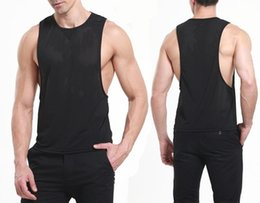 $enCountryForm.capitalKeyWord Australia - 2017 New Mens Summer Nylon Slim Fit Men Tank Tops Clothing Bodybuilding Undershirt Fitness Man Free Shipping #796019
