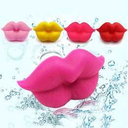 silicone lips 2019 - New Baby Pacifier Red Kiss Lips Dummy Pacifiers Funny Silicone Baby Nipples Teether Soothers Pacifier Dental Care cheap