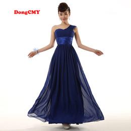 Dress marrieD short online shopping - WL1211 New Fashion Long Design Sister Bridal Married Formal Bridesmaid Dress Gown Chiffon Beach Vestido De