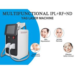 laser machines for hair removal NZ - Hot sale beauty machine nd yag picosecond laser tattoo professional laser hair removal machine with RF yag laser for tattoo removal removal