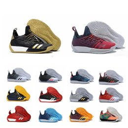 b857cf04509 2019 BOOST designer shoes James Harden Vol.2 Basketball Shoes Mens MVP  Training Sneakers men Sports running shoes size 7-11