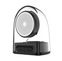 $enCountryForm.capitalKeyWord UK - Transparent TWS Wireless Bluetooth Portable Speaker Super Bass Stereo Music Surround magnetic Loudspeaker For iPhoneX Xs max Xr For S10