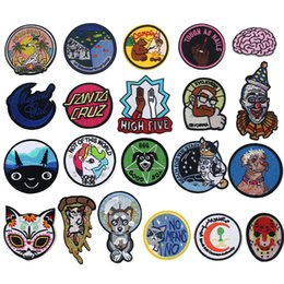 $enCountryForm.capitalKeyWord Australia - Cats and Dogs Iron On Patches Badges for Sew Seam Tailoring Clothes Suits of Coat Jacket Trousers T-shirt Pants Ornament Apparel