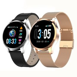 $enCountryForm.capitalKeyWord Australia - Q9 Smart Watch Waterproof Message call reminder Smartwatch men Heart Rate monitor Fashion Fitness Tracker pk Q8 Q1 CF08 P70