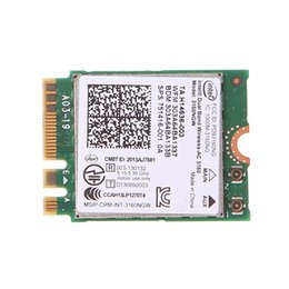 intel networking UK - Cheap Network Cards Intel Dual Band Wireless 802.11 AC 3160 NGW Bluetooth 4.0 Wifi WLAN Card