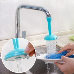 Faucet Kitchen Shower Australia - 60 Degree Rotating Sprayers Adjustable Tap Nozzle Dual Water Spouts Water Saving Shower Head Kitchen Faucet Accessories 360 Degree Rotat...