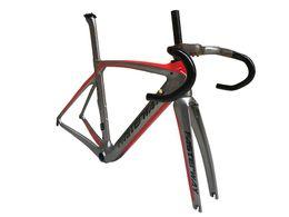 $enCountryForm.capitalKeyWord UK - taiwan made Full Toray T1100 carbon road frame bicycle bike frame carbon road ultra light carbon fiber road frame