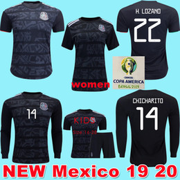 c2c8136a5 Mexico green jersey online shopping - 2019 GOLD CUP Mexico Soccer Jerseys  LOZANO CHICHARITO Football Shirt