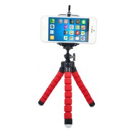 octopus flexible tripod Canada - E Hot Sale MOQ:100pcs Mini Flexible Camera Phone Holder Flexible Octopus Tripod Bracket Stand Holder Mount Monopod Styling Accessories