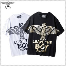 $enCountryForm.capitalKeyWord Australia - Hot Stamping Gold Eagle Mens Tshirts Boy Print Casual O Neck Short Sleeve Mens Tops Teenager Tees