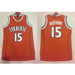 6661ce4d01c Mens Carmelo Anthony Jersey Collection Syracuse Orange College Basketball  Jerseys High Quality Stitched Name Number Size S-2XL