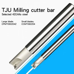 drill cutters NZ - machining center AJU TJU Milling cutter bar Over center Drill and milling cutter bar CNC cutter bar 16 17 20 25 26 Matching CCMT CPMT Blade
