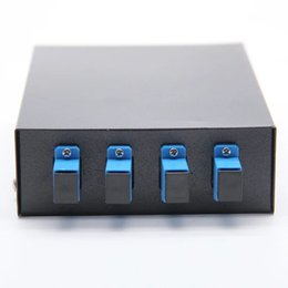 Discount adapter terminals - FTTH Network SC 4 Ports Optic Fiber Terminal Box, include Pigtail and Fiber Optic Adapter