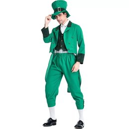 9a6338d65 Ireland Goblin Irish Family Group Children Leprechaun Costume Idea St  Patrick's Day Elf Outfit Cheap Fancy Suits For Man & Kids cosplay