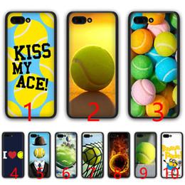 $enCountryForm.capitalKeyWord Australia - tennis ball movement Soft Silicone Black TPU Phone Case for Huawei Honor 6A 7A Pro 7C 7X 8X 8 9 10 Lite