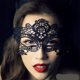$enCountryForm.capitalKeyWord UK - 1PC Women Sexy Lace Eye Mask Party Mask Costume For Masquerade Halloween Venetian Costumes Carnival Mask For Anonymous Mardi Free Shipping