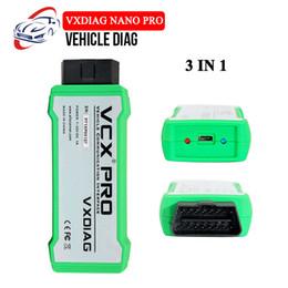 Toyota Engine Diagnostic Australia - Best Price VXDIAG VCX NANO PRO For GM Ford Mazda VW HONDA VOLVO TOYOTA JLR 3 In 1 OBD2 Car Diagnostic Tool